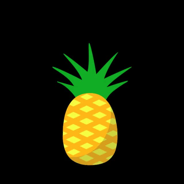 Watch and share Pineapple GIFs by Animated Stickers on Gfycat