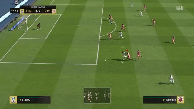 FIFA 19 courtois keep the ball