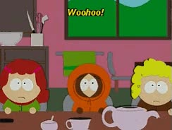 Watch and share Gif South Park Kenny Mccormick Home Ec Tweek Vs Craig GIFs on Gfycat