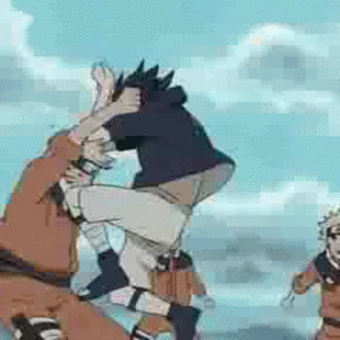 Watch Sasuke strength by Strunton GIF on Gfycat. Discover more related GIFs on Gfycat