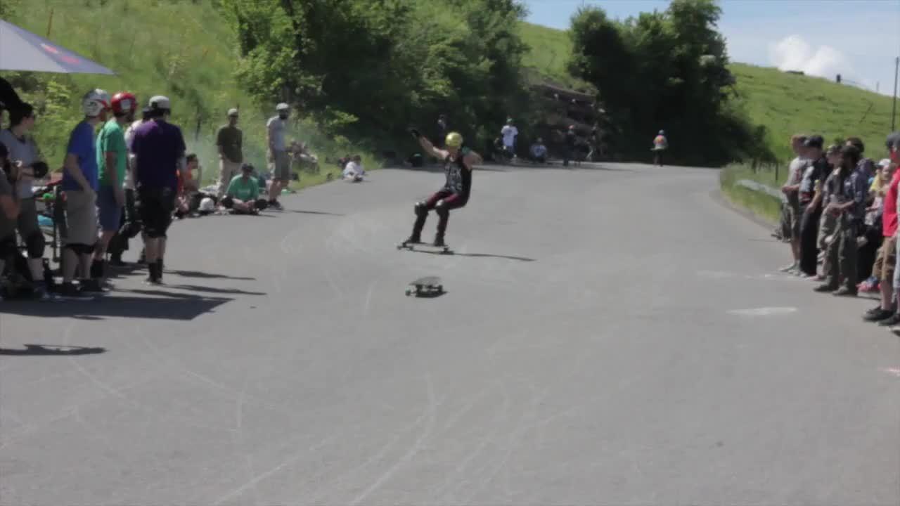 longboarding, Slide into frontflip GIFs