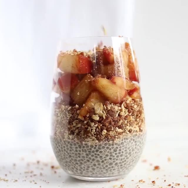 Watch and share PEACH PIE BREAKFAST PARFAITS! The Perfect Way To Enjoy The End Of Peach Seaso... GIFs on Gfycat