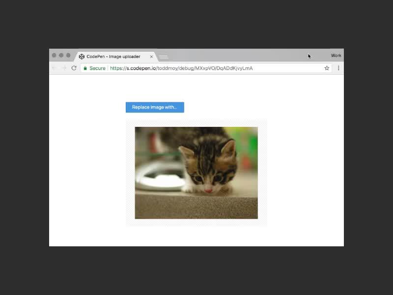 Image Upload Loader