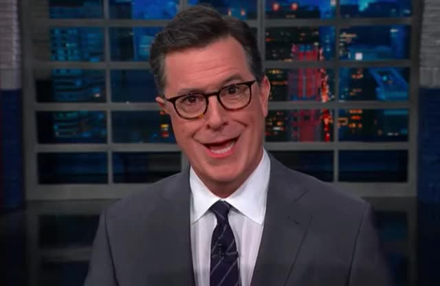Watch and share Colbert GIFs and Silence GIFs by Reactions on Gfycat