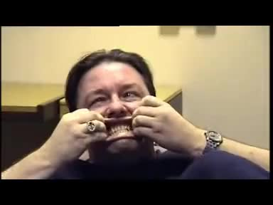 Watch Ricky Gervais faces GIF on Gfycat. Discover more Ricky Gervais, Stephen Merchant GIFs on Gfycat