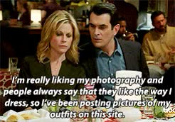 Watch and share Three Dinners GIFs and Modern Family GIFs on Gfycat