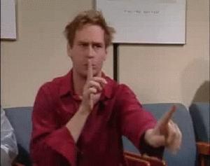 quiet, shhh, silence, Say no more. I gotcha. GIFs