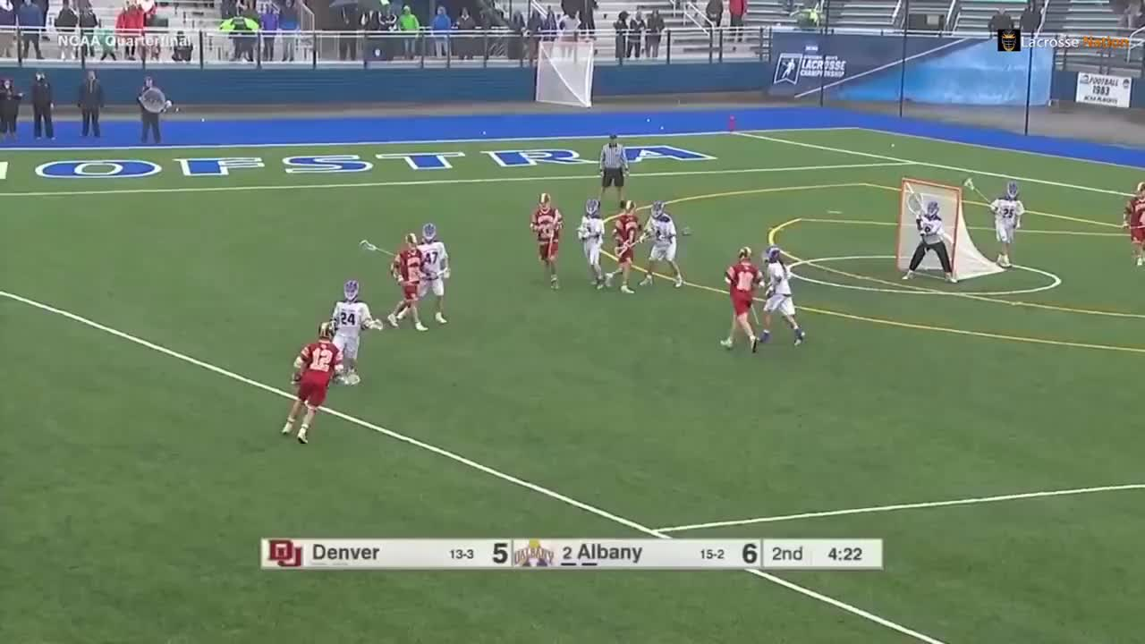 Denver vs Albany Lacrosse Highlights 2018 NCAA Lacrosse Championship Quarterfinal GIFs