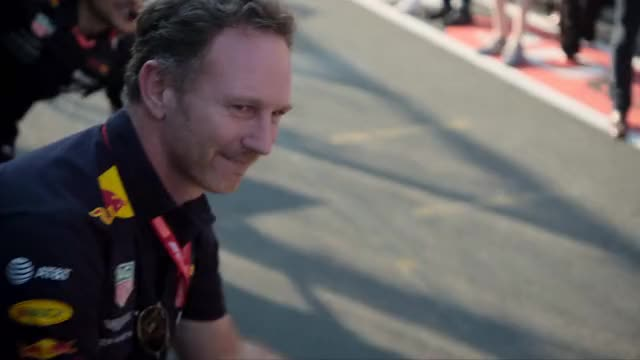 Watch and share Christian Horner GIFs and Red Bull Racing GIFs by grobbledongs on Gfycat