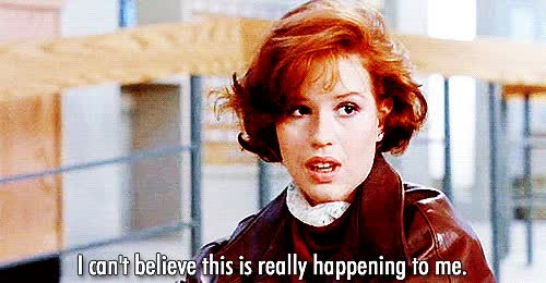 Watch nervous wreck GIF on Gfycat. Discover more molly ringwald GIFs on Gfycat