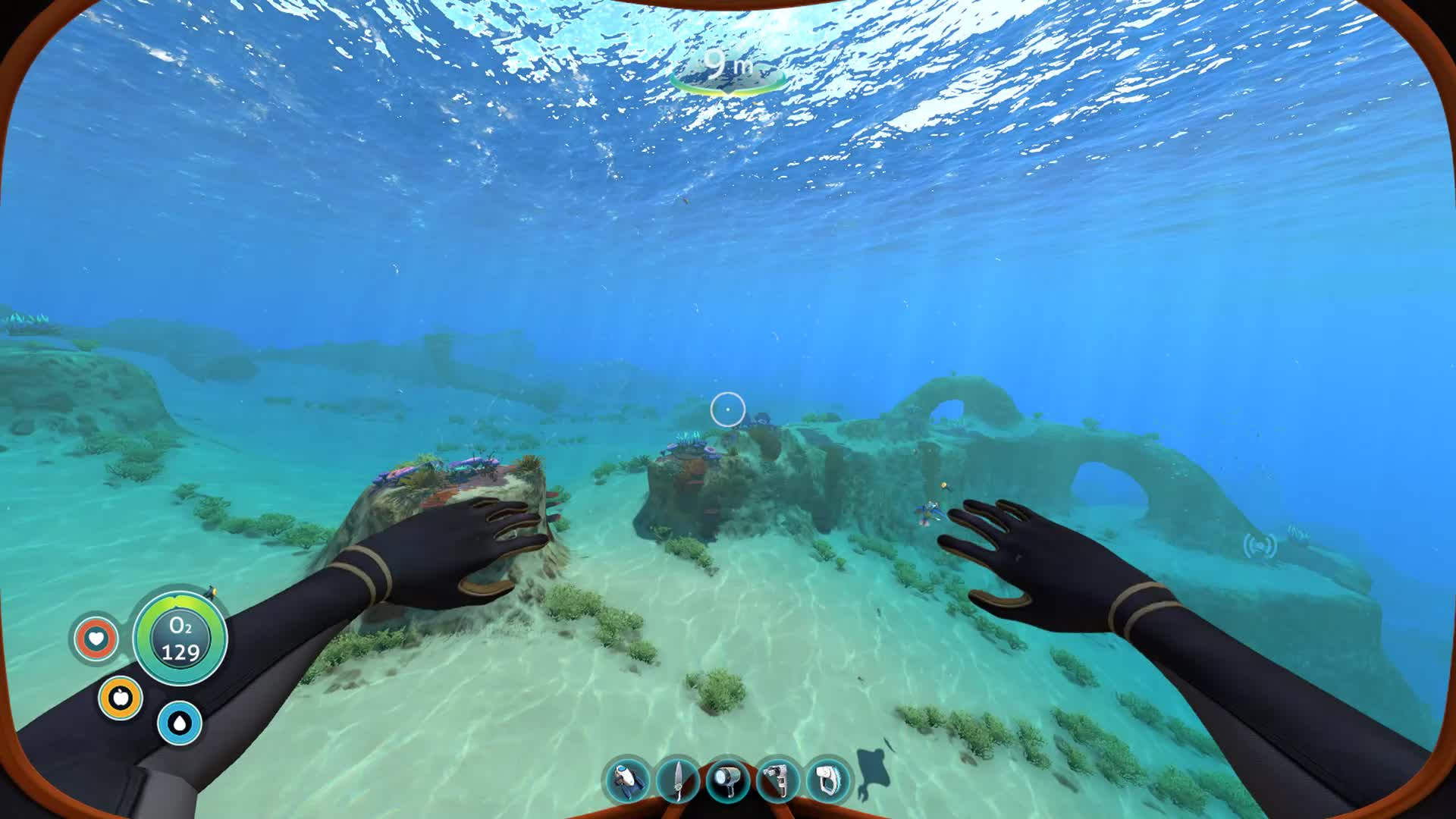 Subnautica, Swimming, Underwater, Video Game, Subnautica Swimming GIFs