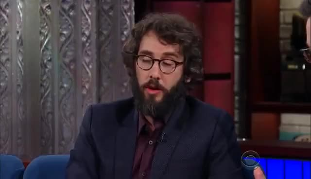 Watch and share Josh Groban Is Always On-Call To Sing For Oprah GIFs on Gfycat