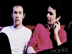 Watch and share Dominic Howard GIFs and Matt Bellamy GIFs on Gfycat