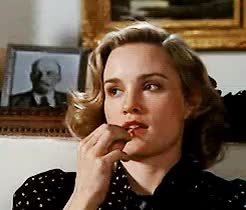 Watch  We Are Spirits In The Material World  GIF on Gfycat. Discover more actress, all that jazz, american horror story, big fish, blue sky, films, frances, jessica lange, king kong, losing isaiah, the postman always rings twice, tootsie GIFs on Gfycat