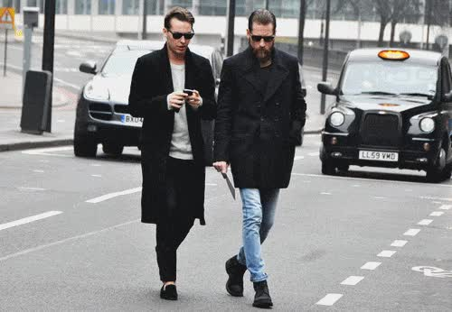 Watch and share Men, Fashion, Street Style, Fall, Autumn GIFs on Gfycat