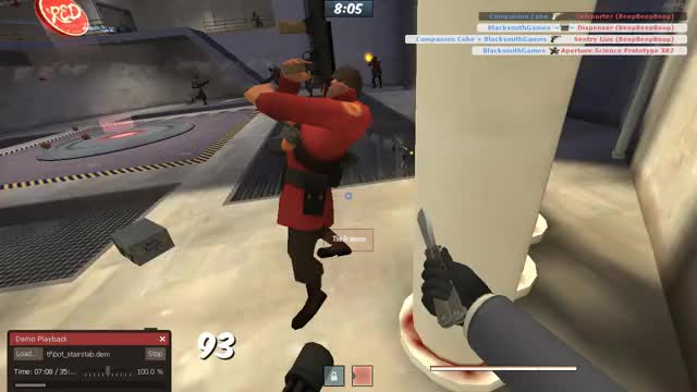 TF2 Bot Stairstab GIF by Kody Chandler (@blacksmithgames) | Find