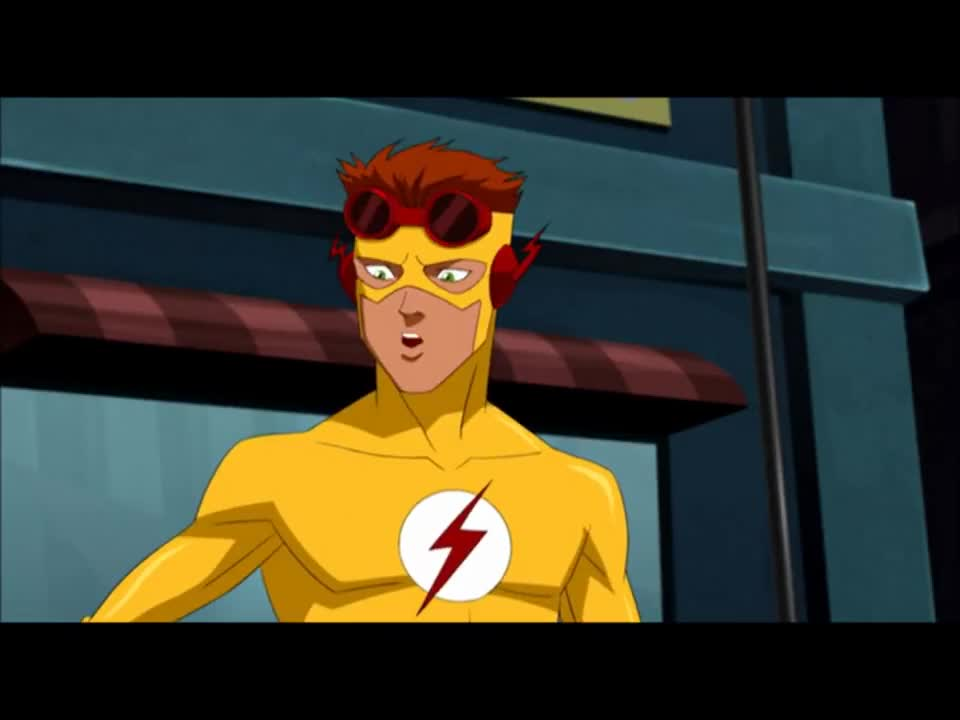 Barry Allen (Adult Flash) - Young Justice GIF