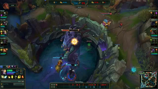Watch and share Biggest Alistar Play 2017 GIFs on Gfycat