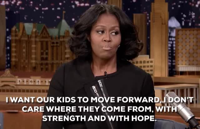 Watch and share The Tonight Show GIFs and Michelle Obama GIFs on Gfycat