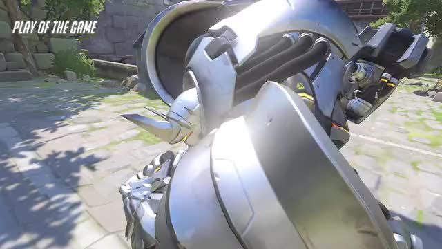 Watch and share Overwatch GIFs and Reinhardt GIFs by nyanjan on Gfycat