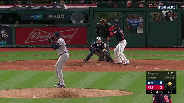 Watch and share Chapman Gets Ajax Looking To Get To ALCS GIFs by GunnyRunny on Gfycat