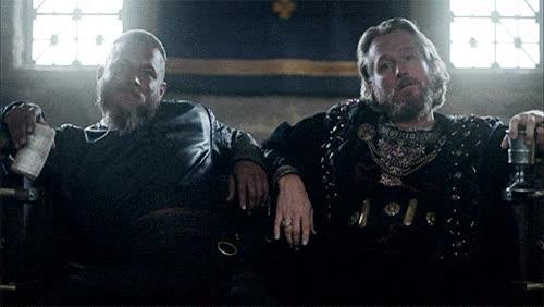 Watch and share Ragnar Ecbert Corrupt Vikings GIFs on Gfycat