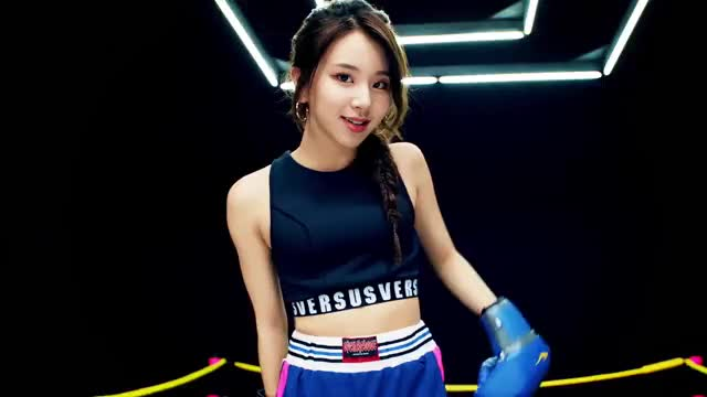 Watch Chae boxer - TWICE「One More Time」Music Video GIF by @b0shtet on Gfycat. Discover more chaeyoung, kpop, one more time, twice GIFs on Gfycat
