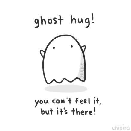 Watch and share Ghost Hug GIFs on Gfycat