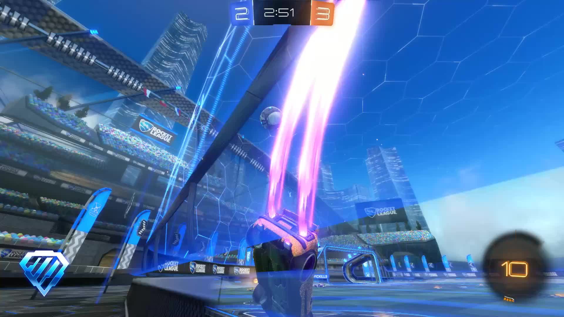 Gif Your Game, GifYourGame, Goal, Rocket League, RocketLeague, TinnieSinker, Goal 6: TinnieSinker GIFs