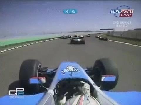 formula1, Ernesto Viso GP2 Turkey 2006 (reddit) GIFs