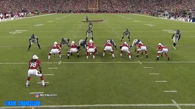 Watch and share Kam Chancellor Vs Arizona Cardinals GIFs on Gfycat