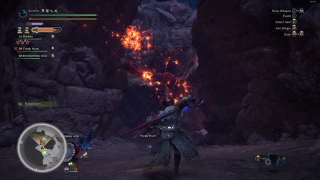 Watch and share Finishing The Teostra GIFs by Swanter on Gfycat