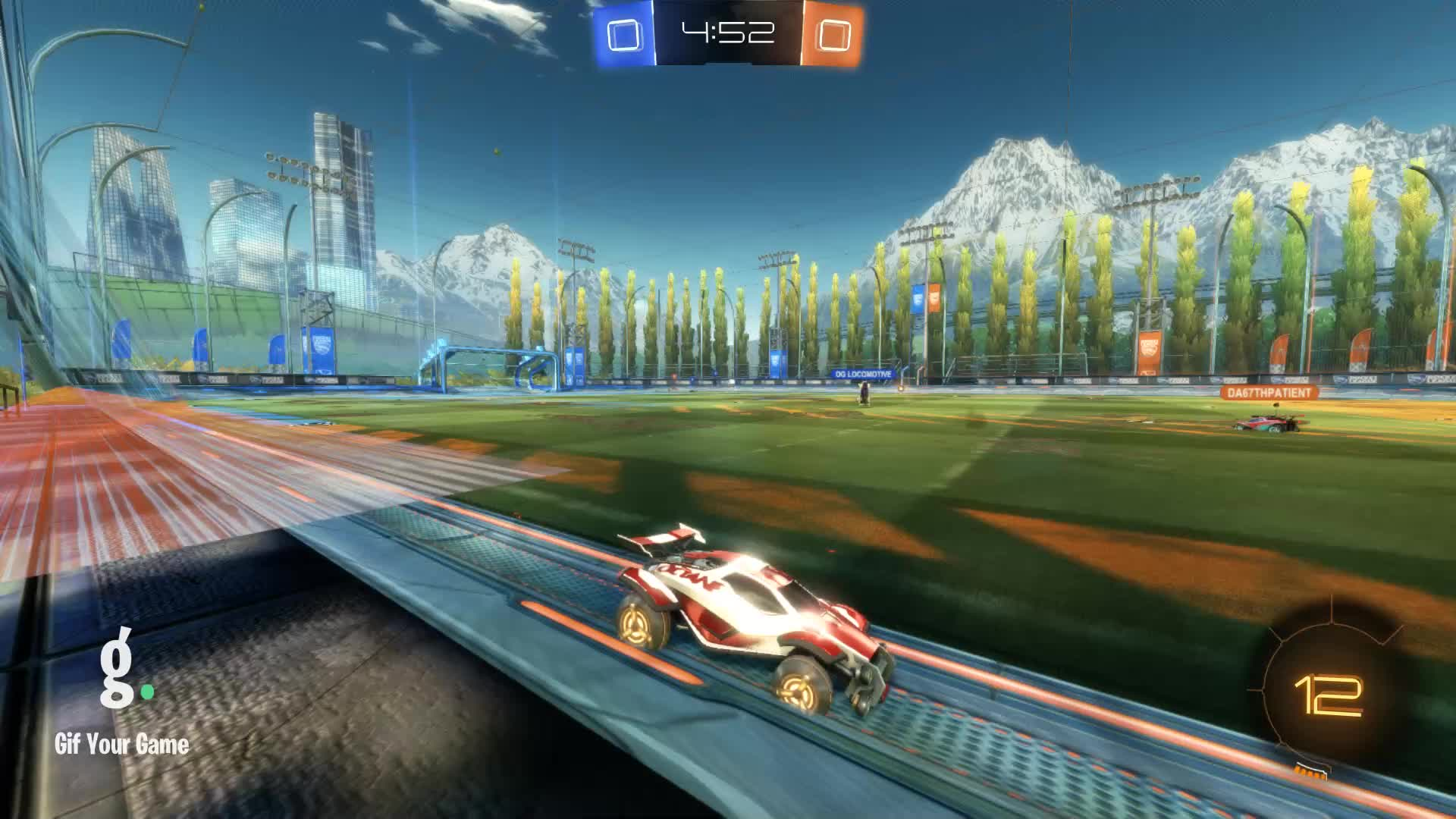 Gif Your Game, GifYourGame, ItWas...Justified, Rocket League, RocketLeague, Save, Save 1: ItWas...Justified GIFs