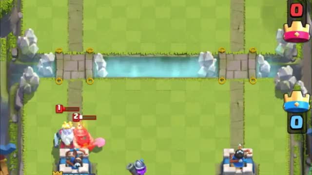 Watch and share Mini Pekka Bridge GIFs by Clash Royale Kingdom on Gfycat