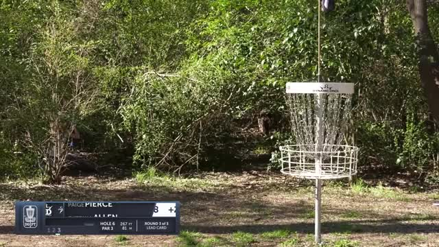 Watch Final Round 2019 Waco Annual Charity Open - Paige Pierce hole 6 putt GIF by Benn Wineka UWDG (@bennwineka) on Gfycat. Discover more Sports, dgpt, disc golf, disc golf pro tour GIFs on Gfycat