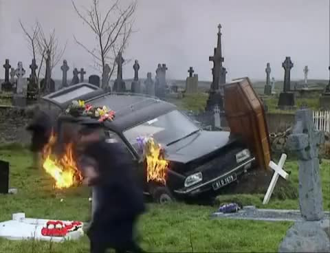 Watch and share You Let Dougal Do A Funeral? GIFs on Gfycat