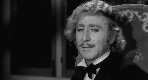 1974, cringe, disapproval, face palm, gene wilder, oh my god, omg, young frankenstein, Gene Wilder - Young Frankenstein GIFs