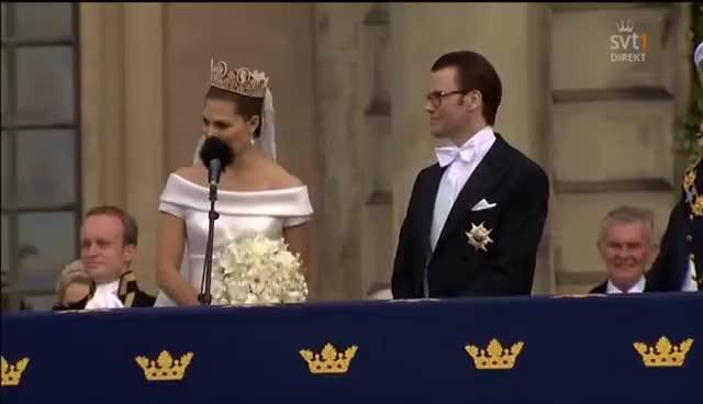 Watch and share Kronprincessan Victorias Tacktal Till Svenska Folket! 19.06.2010 GIFs on Gfycat