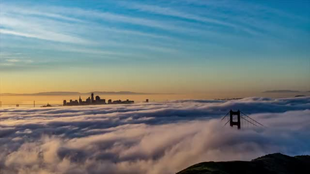 Watch and share San Francisco GIFs and Sunrise GIFs by captainzito on Gfycat