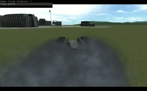 kerbalspaceprogram, Flip-Proof Tank GIFs