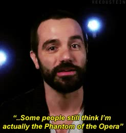 Watch and share Ramin Karimloo GIFs and Im Gonna Cry GIFs on Gfycat