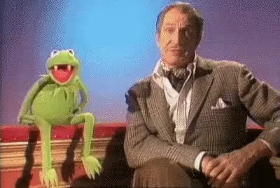 Watch and share Nervous Kermit GIFs on Gfycat