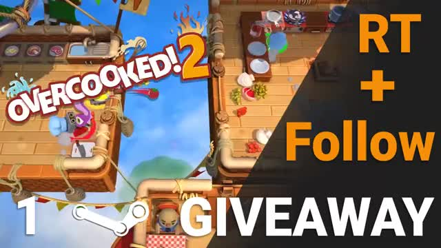 Watch overcooked 1 giveaway vid GIF on Gfycat. Discover more related GIFs on Gfycat