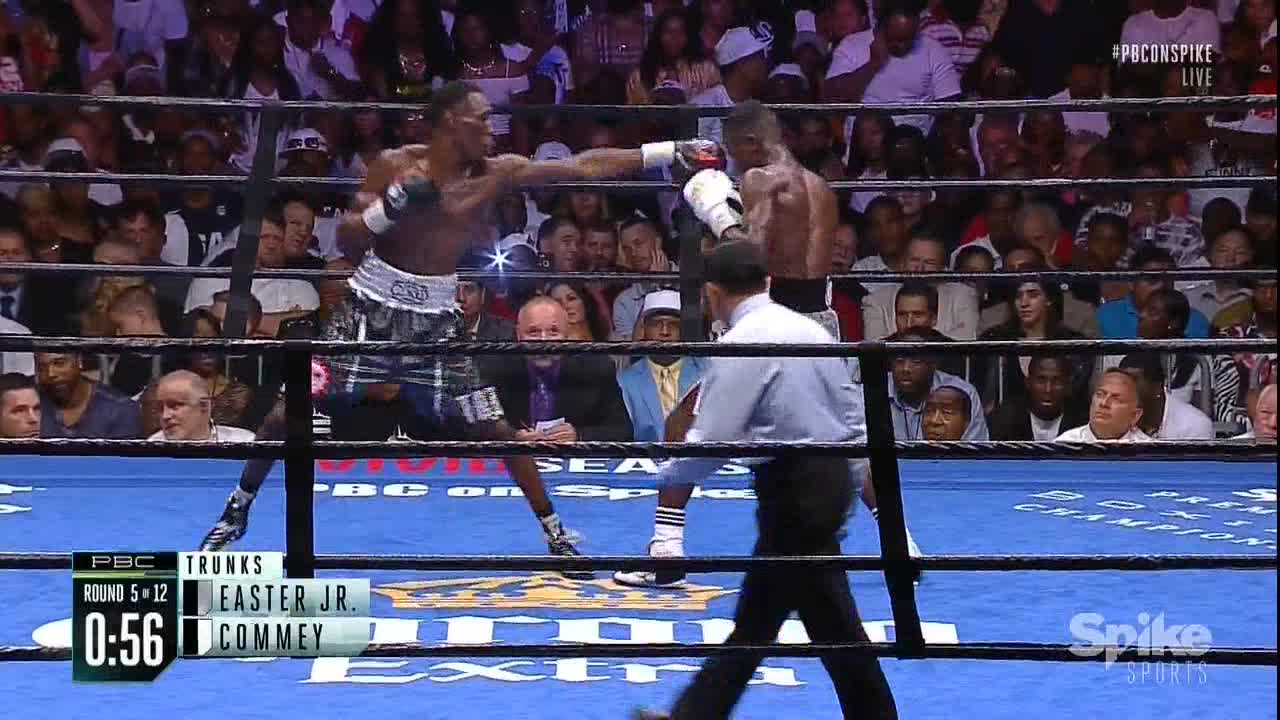 boxing, Easter Jr's incredible uppercut GIFs