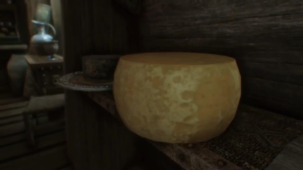 skyrim, cheese bleeds GIFs