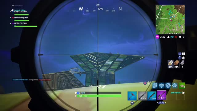 Watch Fortnite Battle Royale (2) GIF on Gfycat. Discover more related GIFs on Gfycat