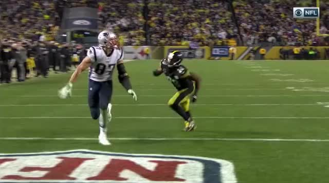 Watch and share 29b Gronk Points And Laughs.mov GIFs on Gfycat