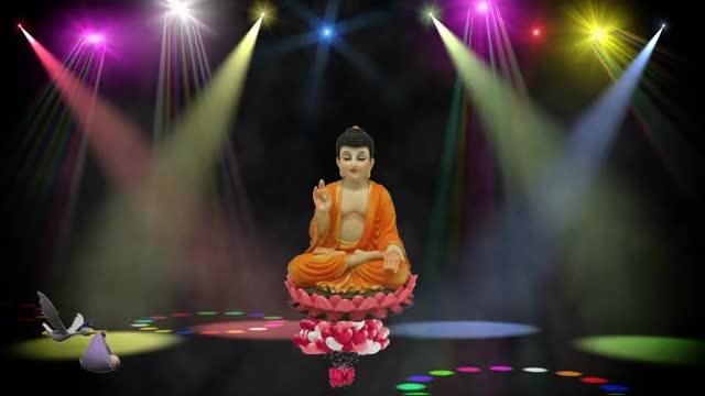 jai sh. krishna & lord buddha