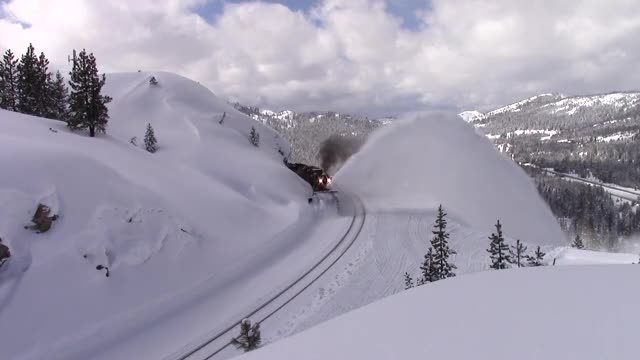Watch Rotary Snow Plow Returns to Donner Pass GIF on Gfycat. Discover more Donner Pass, Donner Pass Route, Norden, Railroad, Rotaries, Rotary, Rotary Snow Plow, UP Roseville Subdivision, Union Pacific, Union Pacific Railroad GIFs on Gfycat