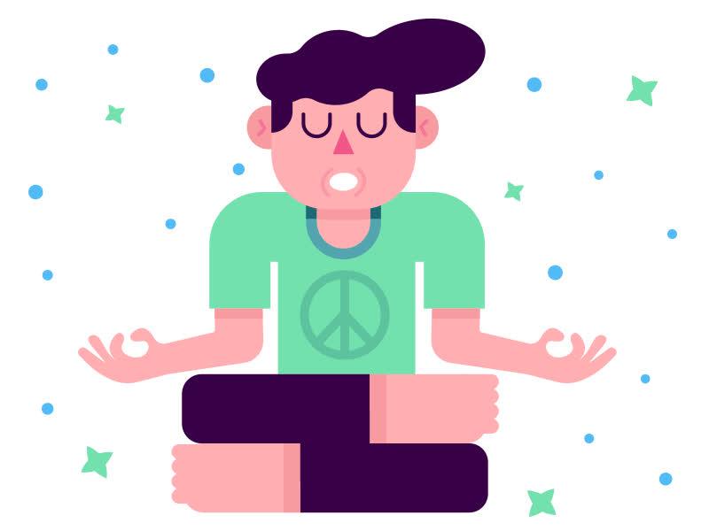 meditation, relax, yoga, zen, Yoga GIFs